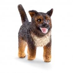 Figurine chien : Berger allemand chiot
