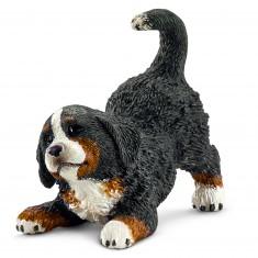 Figurine chien : Bouvier Bernois bébé