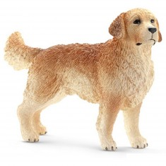 Figurine chien : Golden Retriever mâle