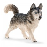 Figurine chien : Husky
