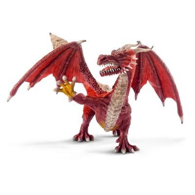 imaison  Schleich  70510  Figurine Chevalier Et Château  Dragon