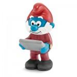 Figurine Grand Schtroumpf chef d'entreprise