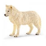 Figurine loup arctique