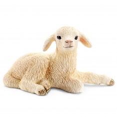 Figurine mouton : Agneau couché