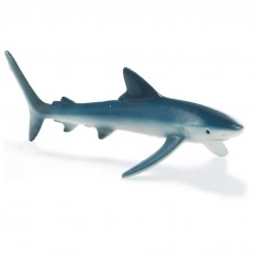 Figurine requin bleu