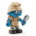 Figurine Schtroumpf à lunettes jungle