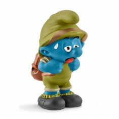Figurine Schtroumpf de la jungle fatigué
