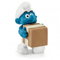 Figurine Schtroumpf logisticien