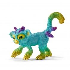 Figurine Shalu, le singe arc-en-ciel