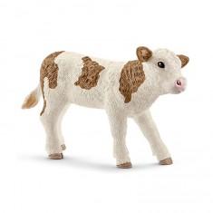 Figurine veau Simmental français