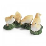 Figurines poussins