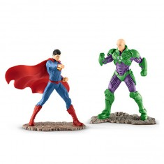 Figurines super héros : Scenery Pack : Superman vs Lex Luthor