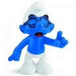 Figurine Schtroumpf à lunettes