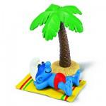 Figurine Schtroumpf en vacances