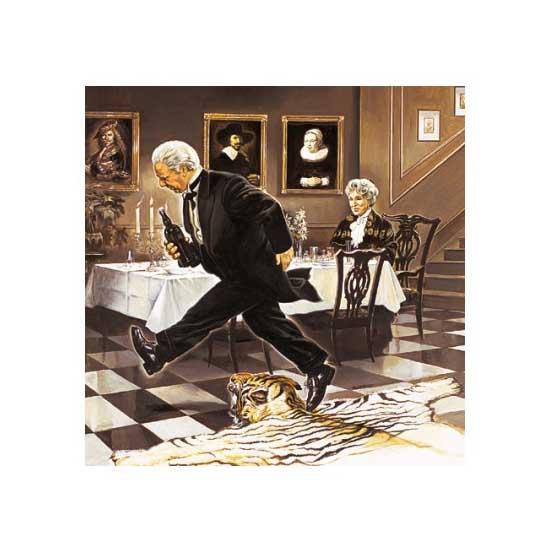 Puzzle 1000 pièces - Dîner seule - Schmidt-57293