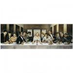 Puzzle 1000 pièces panoramique - Casaro : Dîner des célébrités