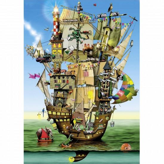 Puzzle 1000 pièces - Colin Thompson : L'arche de Noé - Schmidt-59403