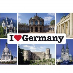 Puzzle 1000 pièces : I Love Germany