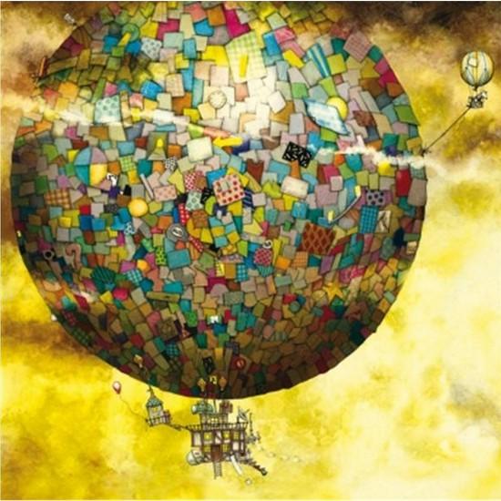 Puzzle 1000 pièces carré - Colin Thompson : Vol en montgolfière - Schmidt-59400