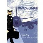 Puzzle 1000 pièces Pan Am : Poster rétro