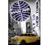 Puzzle 1000 pièces Pan Am : Taxi New Yorkais