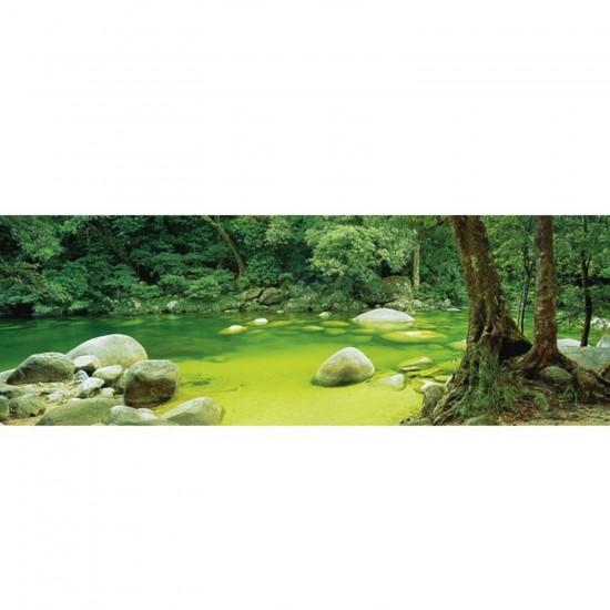 Puzzle 1000 pièces panoramique Mark Gray : Mossman Gorge, Queensland Australie - Schmidt-59286