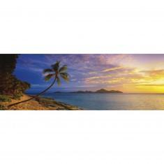 Puzzle 1000 pièces panoramique Mark Gray : Tokoriki Island, Fidji