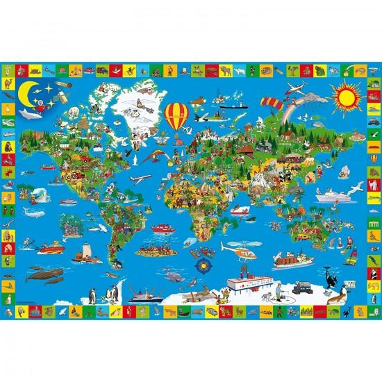Puzzle 200 pièces : Ta petite terre - Schmidt-56118