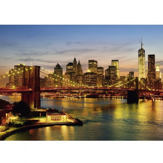 Puzzle 2000 pièces : New-York - Schmidt-58189