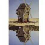 Puzzle 500 pièces Jacek Yerka : Miroitement