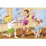 Puzzle 60 pièces - Bibi et Tina : L'école de danse