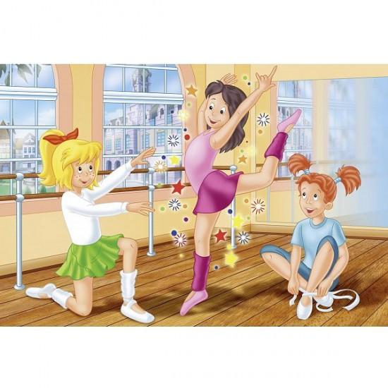Puzzle 60 pièces - Bibi et Tina : L'école de danse - Schmidt-56025
