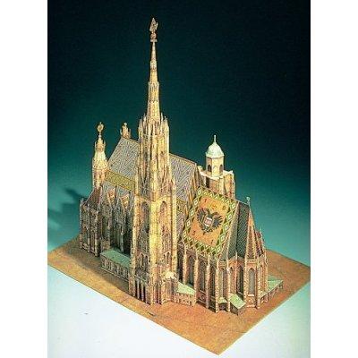 Maquette en carton : Cathédrale Saint-Etienne, Vienne - Schreiber-Bogen-701
