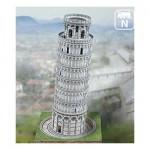 Maquette en carton : La tour de Pise, Italie