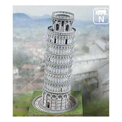 Maquette en carton la tour de pise italie schreiber bogen rue des maqu - Taille de la tour de pise ...
