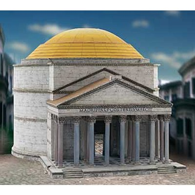 Maquette en carton : Panthéon, Rome - Schreiber-Bogen-707
