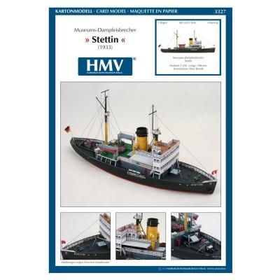 Maquette en carton : Bateau : Steamicebreaker Stettin - Schreiber-Bogen-3327