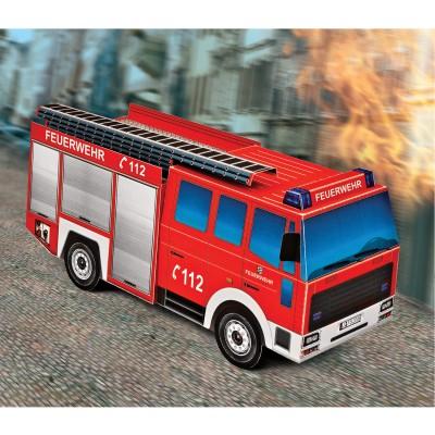 Maquette en carton : Camion de pompiers - Schreiber-Bogen-725