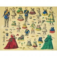 Maquette en carton : Kit de poupées Friedrich Wilhelm