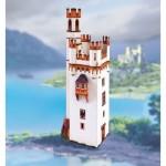 Maquette en carton : Mäuseturm de Bingen (Mouse Tower), Allemagne