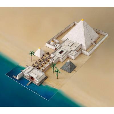 Maquette en carton : Pyramide et Vallée du temple - Schreiber-Bogen-741