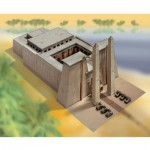 Maquette en carton : Temple égyptien