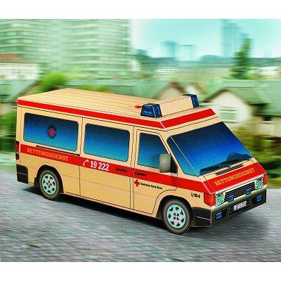 Maquette en carton : Ambulance - Schreiber-Bogen-633
