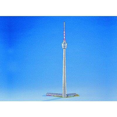 Maquette en carton : Antenne relais de télévision de Stuttgart, Allemagne  - Schreiber-Bogen-72587
