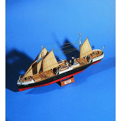 Maquette en carton : Bateau à vapeur Sirius  - Schreiber-Bogen-72496