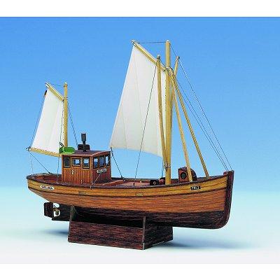 Maquette en carton : Bateau de pêche Selma  - Schreiber-Bogen-585