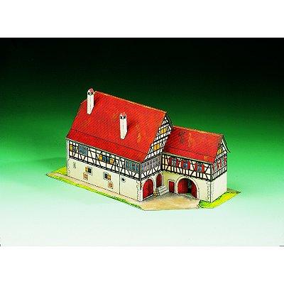 Maquette en carton : Bauernhaus Tamm, Allemagne  - Schreiber-Bogen-72596