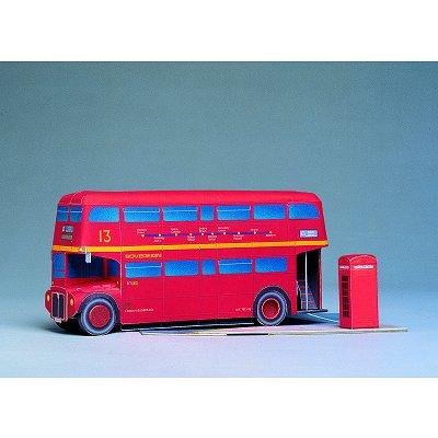 Maquette en carton : Bus londonien - Schreiber-Bogen-563