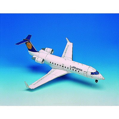 Maquette en carton : Canadair Jet - Schreiber-Bogen-72620