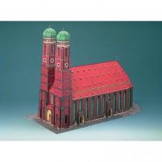 Maquette en carton : Cathédrale de Munich, Allemagne